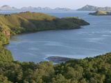 Bay and Outlying Islands Off Rinca Island  Komodo National Park  Indonesia