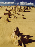 Pinnacle Formations in Nambung National Park  Western Australia