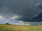 A Summer Storm Looms over Prairie
