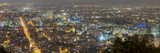 Hyper Resolution Photograph of Bogota  Columbia at Night