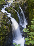 Waterfalls of Sol Duc River  Olympic National Park  Washington