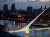 Puente De Mujer in the Puerto Madero Section of Buenos Aires