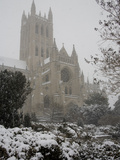 Heavy Snowfall Covers the Cathedral During the &#39;Blizzard of 2010&#39;