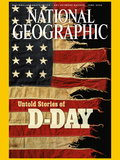 Cover of the January  2002 Issue of National Geographic Magazine