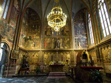 The Interior of Saint Vitus Cathedral  Prague