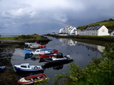 A Rainbow over the Cushendun Harbor