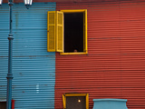 A Building in the La Boca Neighborhood of Buenos Aires