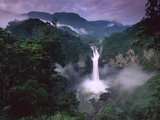 San Rafael or Coca Falls on the Quijos River  Amazon  Ecuador