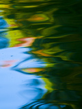 Soft Colors and Reflections in Gently Rippled Water