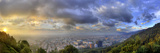 A Panoramic View of Bogota  Colombia