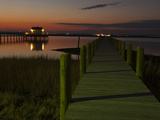Docks at Chincoteague Island