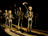 The Procession and the Players of the Dance of Death