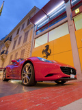 A Ferrari and Auto Showroom in Monte Carlo