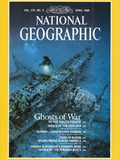 Cover of the April  1988 National Geographic Magazine