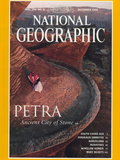 Cover of the December  1998 National Geographic Magazine