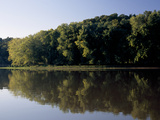 Scenic View of the Cumberland River and Trees Along the Shore