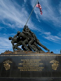 The Iwo Jima Memorial  at Arlington  Virginia