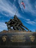 The Iwo Jima Memorial  at Arlington  Virginia