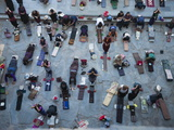 Worshippers Pray at the Jokhang Temple