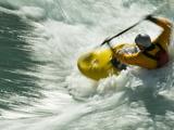 Kayaking on the Kananaskis River