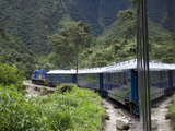 The Hiram Bingham Express En Route to Machu Picchu