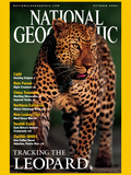 Cover of the October  2001 Issue of National Geographic Magazine