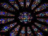 "The Northern Rose Stained-Glass Window Has a ""Last Judgement"" Theme"