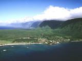 Aerial View of Kalaupapa National Park and the Peninsula