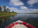 Travel by Motor Boat Up the Nushagak River