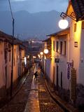 A Street in the San Blas Neighborhood in Cuzco