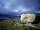Cloughmore Stone in Rostrevor  County Down