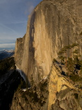 The Northwest Face of Half Dome Peak in Yosemite National Park