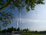 The Air Force Memorial in Arlington  Virginia