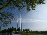 The Air Force Memorial in Arlington  Virginia