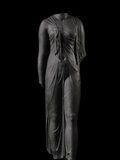 A Life-Size  Stone Statue Wears a Dress Typical of Ptolemaic Queens