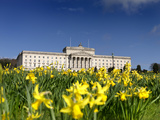 Stormont Parliament  Belfast  Northern Ireland