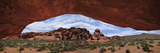 Rock Formations Through a Giant Arch in Valley of Fire State Park