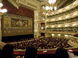 Audience in the Dresden State Opera House  Staatsoper