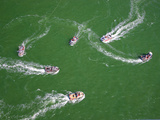 Fishing Boats Jockey for Position in Order to Catch the Most Salmon