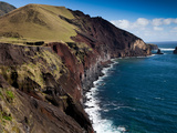 The Rugged Northwest Coast of the Remote Island of Tristan Da Cunha