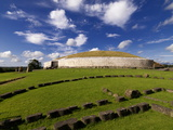 Newgrange Prehistoric Monument in County Meath  Ireland