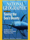 Cover of the April  2007 Issue of National Geographic Magazine