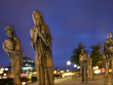Dublin's Famine Memorial Memorializes the Irish Potato Famine of the 1840's