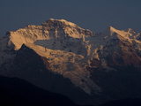 Alpenglow on the Jungfrau and Silberhorn