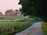 Fields and Haystacks in the Maple Grove Road Rural Historic District