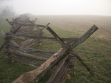 Morning Fog over This Civil War Battlefield