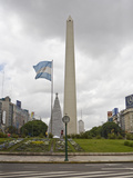 Obelisk Built in May 1936 Commemorates Buenos Aires' 400th Anniversary