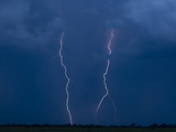 Lightning Strikes on the Duba Plains