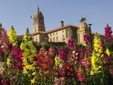 Flower Gardens in Front of the Union Buildings  Parliament