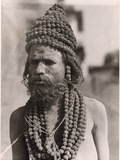 Portrait of a Hindu Holy Man